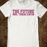 Funny Divergent Inspired 'The Future Mrs. Tobias Eaton' T-Shirt