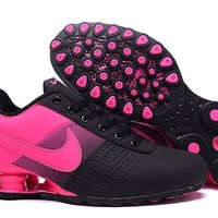 Women's Nike Shox OZ D Black/Peach Shoes