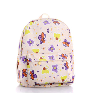 Butterfly Stylish Fashion Backpack = 4887414148