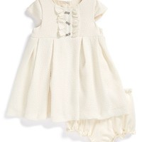 Infant Girl's Pippa & Julie Cap Sleeve Dress & Bloomers