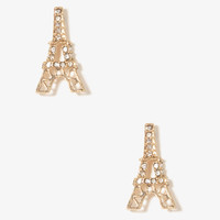 Eiffel Tower Studs