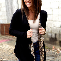 Fly Away Cheetah Cardi