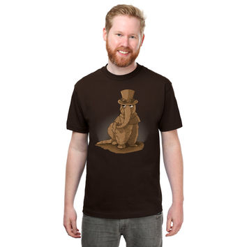 Steampunk Snuff T-Shirt - Dark Chocolate,