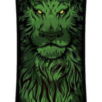 Lion God TieDye Drop Thru Drop Thru Cruzer 10in x 40in Santa Cruz Skateboard