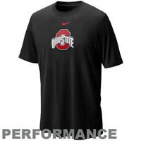 Nike Ohio State Buckeyes Logo Legend Performance T-shirt - Black