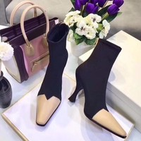 Celine women Casual Shoes Boots fashionable casual leather