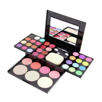 39 Colors Make Up Palette Kit Eye Shadow Blusher Powder Metallic Shimmer Foundation Powder Makeup set kit Hot