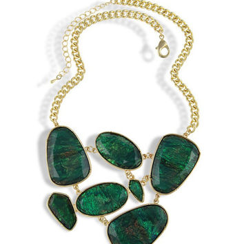 Evergreen Statement Necklace