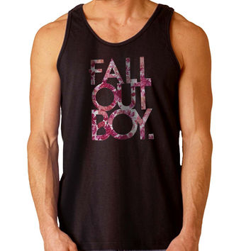 fall out boy flower For Mens Tank Top Fast Shipping For USA special christmas ***