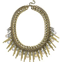 Women's BaubleBar 'Aurora' Deco Fringe Necklace
