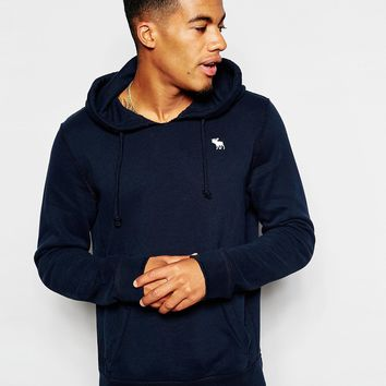 Abercrombie & Fitch Overhead Hoodie with Moose Logo