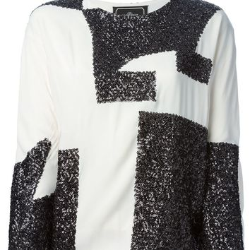 By Malene Birger sequinned top