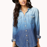 Ombré Chambray Shirt
