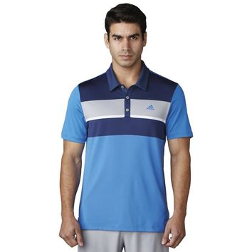 Licensed Golf New 2017 Adidas  ClimaCool Engineered Block Polo Shirt - Pick Size