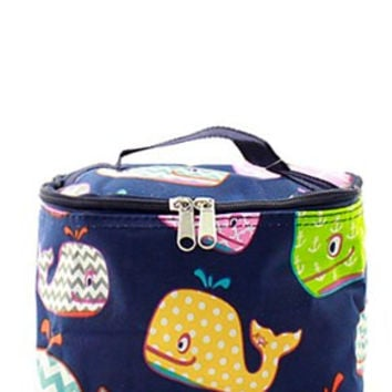 Whale Small Cosmetic Bag