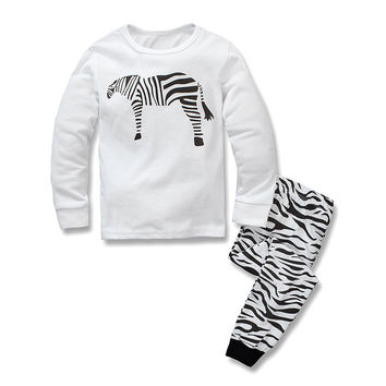 Home Hot Sale Cotton Children Long Sleeve Set [6324917444]