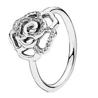 Authentic Pandora Jewelry - Shimmering Delicate Rose Ring