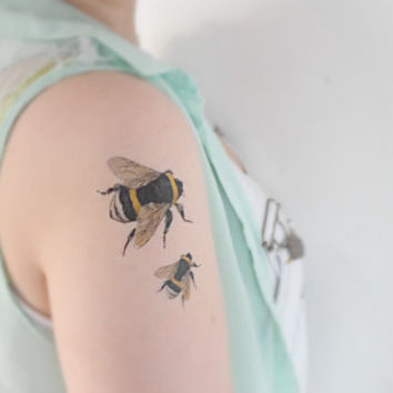 Shop Bee Tattoos On Wanelo
