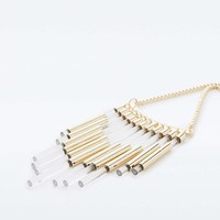 Tubular Statement Necklace - Urban Outfitters