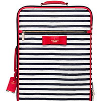 Kate Spade Julia Street Stripe International Carry-On Rich Navy/Cream