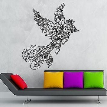 Wall Sticker Vinyl Decal Bird Pattern Great Living Room Decor Unique Gift (ig1866)