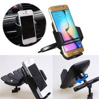 ELEGIANT 55-85mm Univeral Car CD Slot Dash Mount Holder Cradle Dock for Smartphone