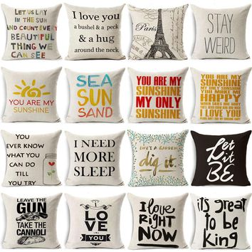 Funny Quote Pillowcase