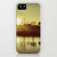 Goodbye Yesterday Hello Today (warm) iPhone & iPod Case by RichCaspian