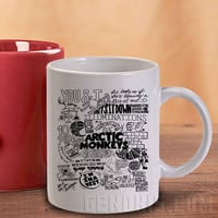 Arctic Monkeys 5 Mug And Cup / Custom Mug / Custom Cup