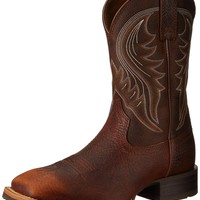 Ariat Men's Hybrid Rancher Western Cowboy Boot Brown Oiled Rowdy 9.5 D(M) US