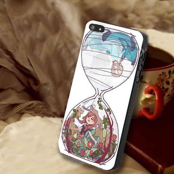 disney frozen hourglass art customized for iphone 4/4s/5/5s/5c, samsung galaxy s3/s4/s5 and ipod 4/5 case