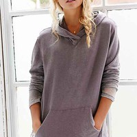 Truly Madly Deeply Hooded Burnout Shirt-