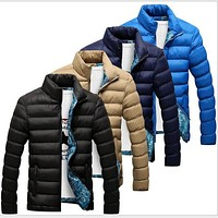 VXO  Winter Jacket Men Men's Down Cotton Coat Winter Jackets Mens Thicken Warm Outwear For Men Streetwear Male Coat