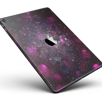 "Purple and Pink Unfocused Glowing Light Orbs Full Body Skin for the iPad Pro (12.9"" or 9.7"" available)"