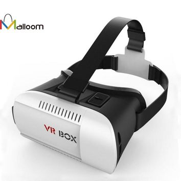 3D VR Virtual Reality Headset 3D Glasses VR BOX For iPhone 6S For Samsung  3D Movie Video Game With Packaged High Quality