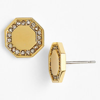 Louise et Cie 'Signature Links' Octagon Stud Earrings