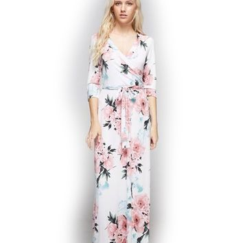 Treat Me Better Floral Maxi Dress