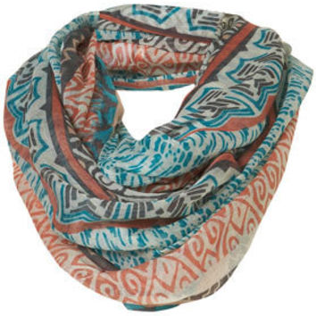 Aztec Border Snood - Scarves  - Accessories  - Topshop
