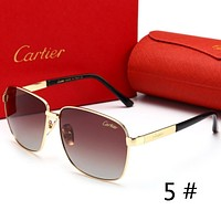 Cartier Fashion new high quality sunglasses glasses polarized sunglasses men