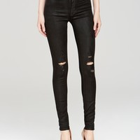 Hudson Jeans - Barbara High Rise Skinny in Waxed Skylark