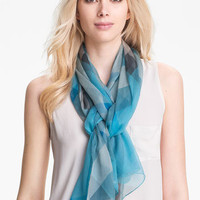 Burberry Check Print Silk Crepon Scarf | Nordstrom