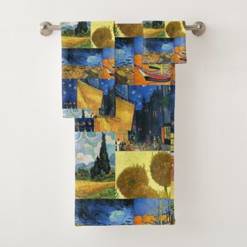 Van Gogh Dream Paintings Art Towel Set