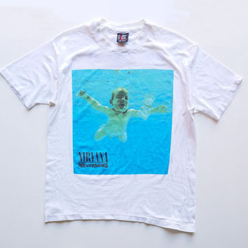 Nirvana T-Shirt, Nirvana Shirt, Nevermind Shirt, Kurt Cobain