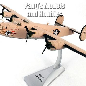 "Consolidated B-24 (B-24D) Liberator USAAF ""Wongo Wongo"" 1/72 Scale Diecast by Air Force 1"
