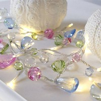 GLAM Exclusive Jewel Shaped Sparkle LED Fairy Lights