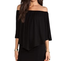 James & Joy Mina Convertible Dress in Black