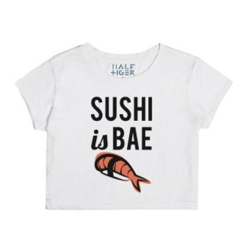 Sushi is Bae-Female Snow T-Shirt
