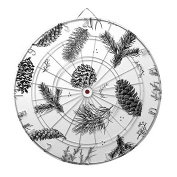 Ghost Pine Dartboard