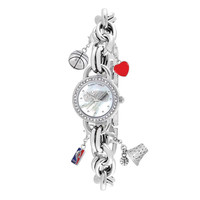 San Antonio Spurs NBA Women's Charm Series Watch