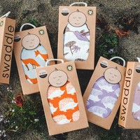 Milkbarn | Organic Cotton Swaddle Blanket |Multiple Styles